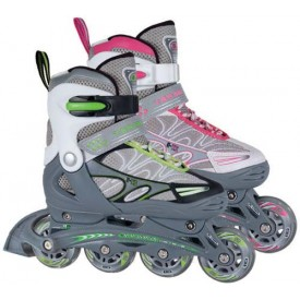 ZX 9 Adjustable Inline Skate with Safety Gear